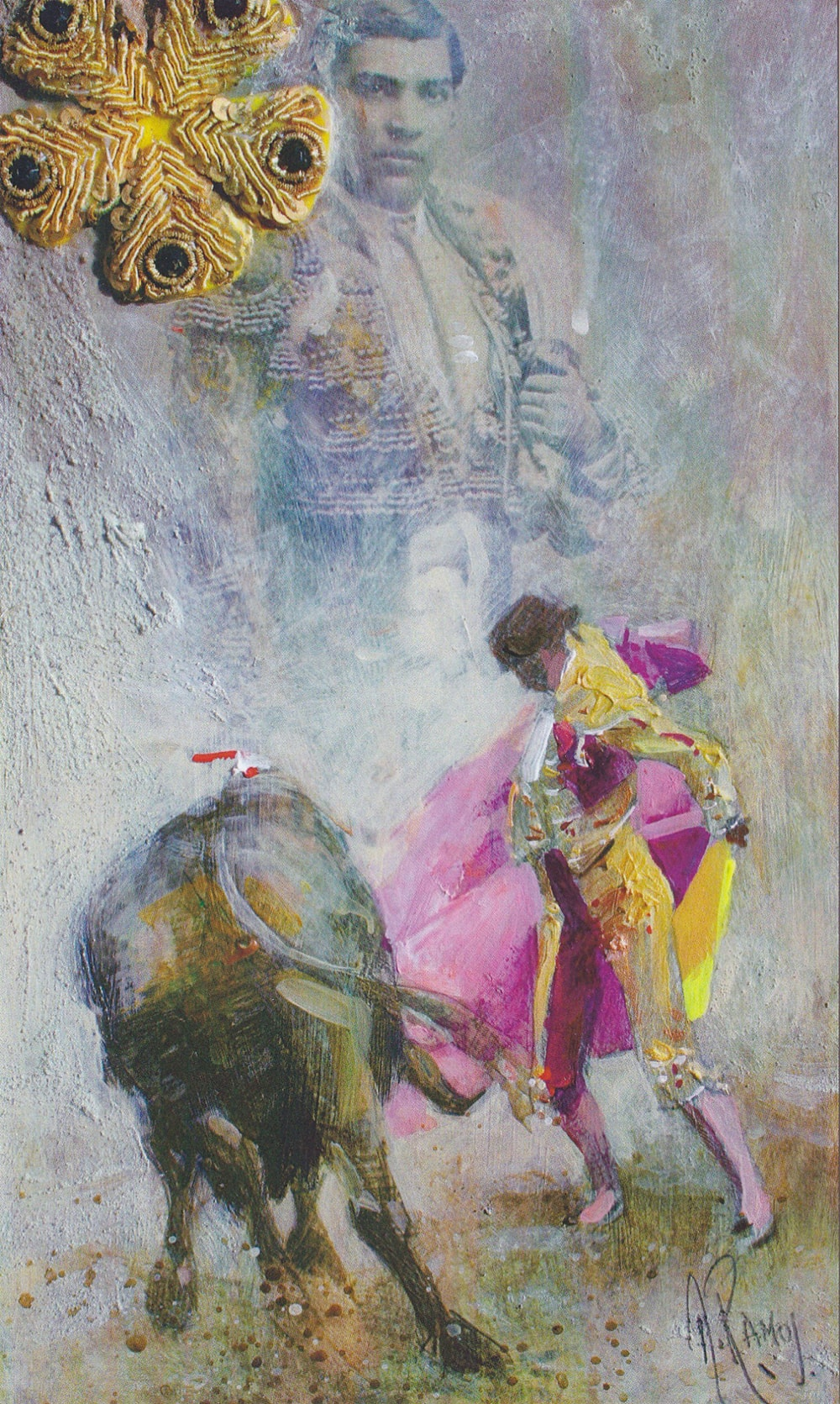 Collage de Diego Ramos : Gaona, Tiempo del metal, 2007